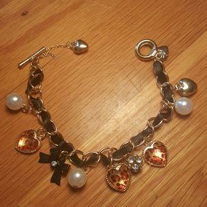 LAST CHANCE!!!Betsey Johnson Animal Print bracelet